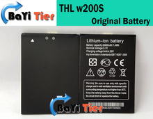 THL w200 Battery 100% New Original 2000mAh Lithium-ion Backup Battery for THL W200 w200s W200C Smart Mobile Phone -In Stock(China (Mainland))