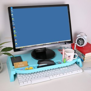 SNH021 Desktop Storage Racks Office Multi-function Keyboard shelf Desk Top tidy stationery Sundries Pen Holder Organization