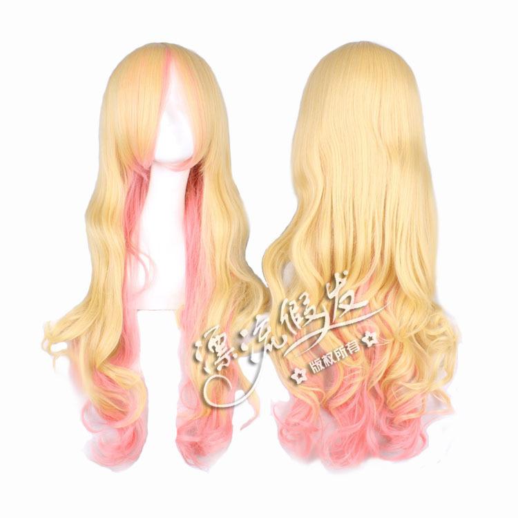Гаджет  wig COS high-temperature wire macross - 80 cm curl ciel queen None Изготовление под заказ