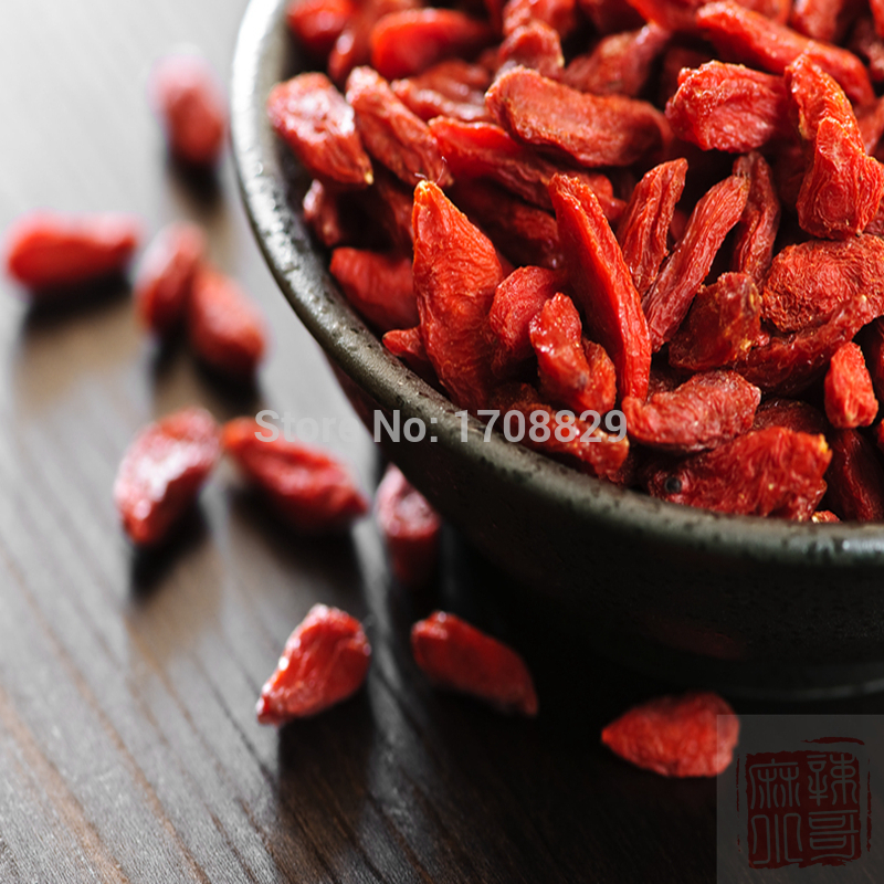 Goji 100g Ningxia goji berries Medlar Large better quality Goji berry Wolfberry herbal Tea green food