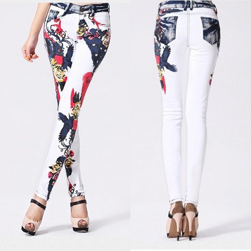 High Quality Girls White Capri Pants Promotion-Shop for High ...