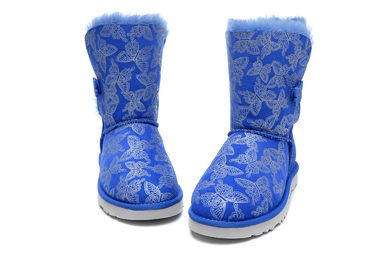 NEW 2014 logo 1002195 Leather winter fur botas femininas women Butterfly Texture Colorful brand High quality snow boots female(China (Mainland))
