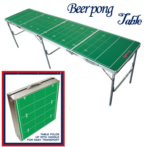 New Portable Folding Beer Pong Table Official Beer Pong  Table Tennis Table