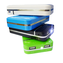 free shipping Universal Portable External battery pack power bank 6000mah with hight quality