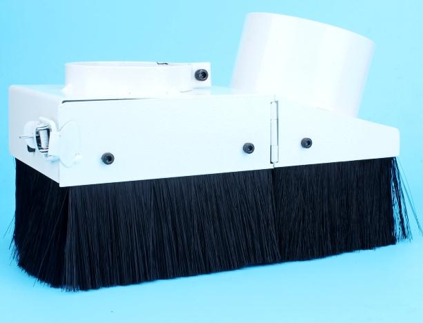65mm cnc dust collector cover wood Spindle dust collect for 800w spindle(China (Mainland))