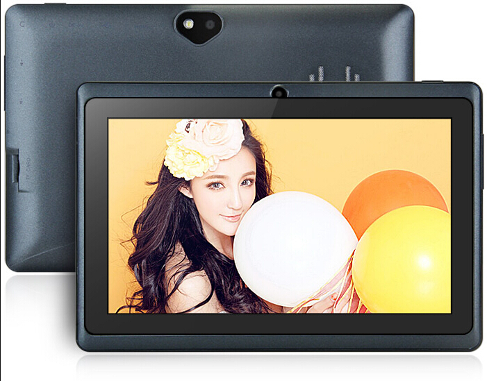 "Love Flash 7""Tablet PC Android 4.4 8GB A33 Quad Core Wi-Fi Bluetooth Dual Camera IM Black(China (Mainland))"