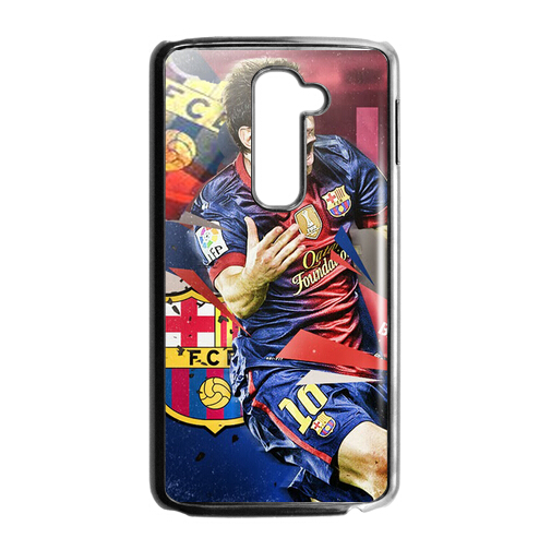 New Design New Design Lionel Messi Barcelona for LG G2 HARD Plastic Case Cover , FREE SHIPPING(China (Mainland))