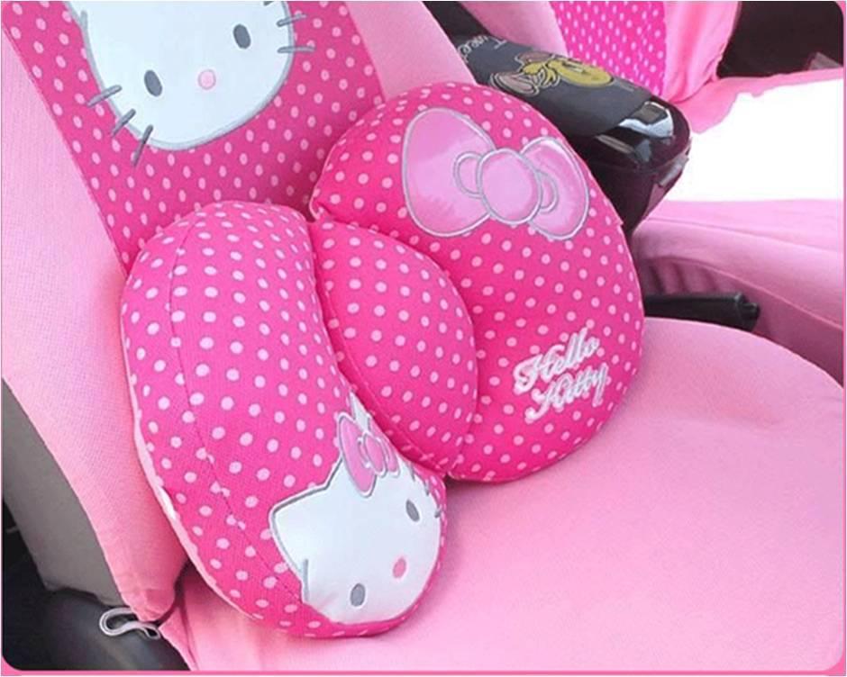 Best Selling Hello Kitty Car Seat Support Cover Chair Cushion Office Home Decoration Chevrolet KIT0002 - ShangHai B&S Automobile Products Store store