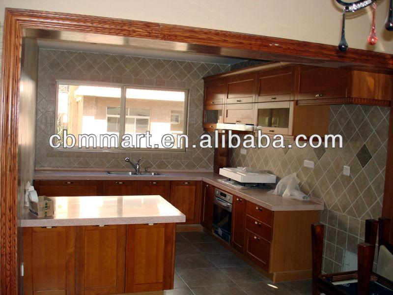 wooden kitchen cabinet,modern kitchen cabinet(China (Mainland))