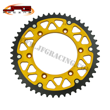 Buy 49T GOLD SPROCKETS FOR KX 125 250 KX 250F 450F KXF OFF ROAD MOTORCYCLE SUPERMOTO for $48.60 in AliExpress store