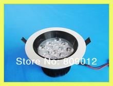 glare-proof high power LED ceiling light lamp 12W LED spot light glare-proof 12W AC85-265V 3 year warranty free shipping(China (Mainland))