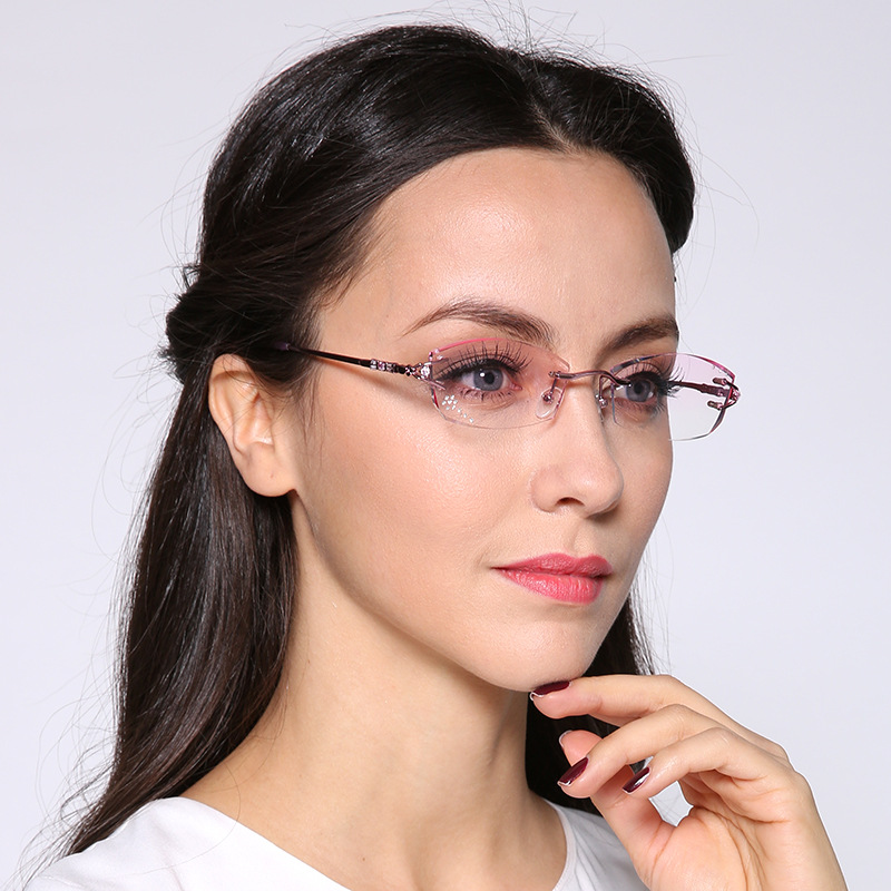 Eyeglass Frames Popular Styles : Aliexpress.com : Buy 2016 Pure Titanium Fashionable Lady ...
