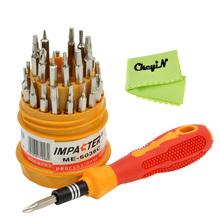 31 in 1 Multi purpose Precision Magnetischen Schraubendreher Set ferramentas herramientas für Apple PC Uhr Handy Reparatur Werkzeuge(China (Mainland))