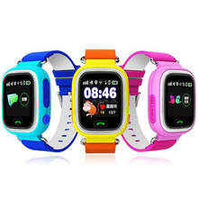 GPS Q90 Touch Screen WIFI Positioning Smart Watch Children SOS Call Location Finder Device Tracker Kid Safe Anti Lost Monitor(China (Mainland))
