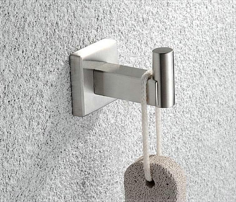 Accessoires salle de bain nickel brosse salle de bains - Refaire sa salle de bain soi meme ...