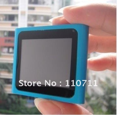 MP4-плеер Brand New 20 6 8GB MP3 mp4/1.8' + DHL /ems 6th Gen 1.8'' Touch Screen Mp4