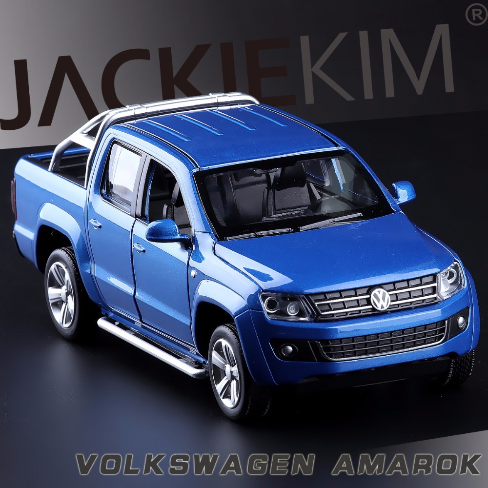 High Simulation Exquisite Collection Toys Caipo Car Styling Volkswagen Amarok Model 1:30 Alloy Truck Model Fast Fruious(China (Mainland))