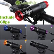 5W CREEQ5 LED 2000XAluminum Waterproof AAA/18650 Battery With Holder Front Cycling Bike Bicycle Lights Lamps Lantern Flashlight(China (Mainland))