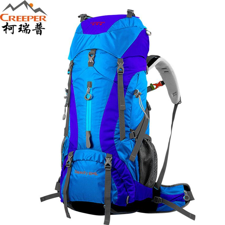 New Arrival Nylon Men's Climbing Brand Backpacks Outdoor 65L Waterproof Travel Sport Mountaineering Bags Leisure Hiking Backpack(China (Mainland))