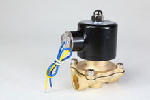 """free shipping 2way2position DC12V 1/2"""" Electric Solenoid Valve Water Air N/C Gas Water Air(China (Mainland))"""