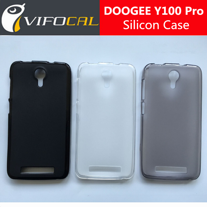 DOOGEE Valencia 2 Y100 PRO Silicone Case 100% New Anti-Oil Soft Matte TPU Protective Back Cover For Doogee Y100 Pro Mobile Phone(China (Mainland))