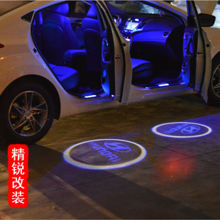 Modified car lights door welcome light laser light projection lamp chassis lamp car decoration lamp led lighting