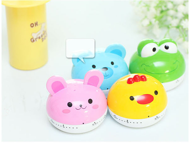 Cartoon Mini Kitchen Cooking Timer 55 Minutes Cooking Tools Kitchen Timers(China (Mainland))