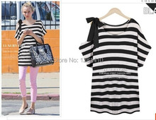 2014 Summer Women's Clothing Large Size XL-XXXXL for Girl or Women,Tops and Tees Free Shipping(China (Mainland))