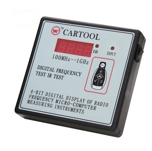 CARTOOL Car IR Infrared Remote Key Frequency Tester (Frequency Range 100-1000MHZ) with Free Shipping(China (Mainland))
