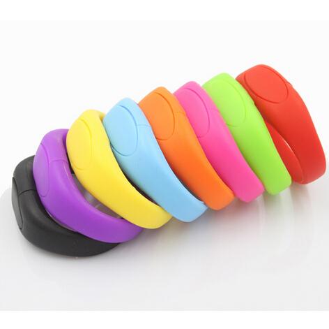 Promotion Gift 4GB 8GB 16GB 32GB Silicone USB Flash Drive/ silicone usb disk/silicone usb bracelet(China (Mainland))