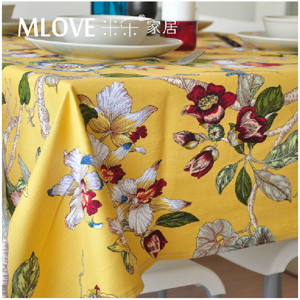 100% Cotton Fabric Tablecloth Table Cloth Fabric Coat Cloth Handmade Table Cover Dining Room Decoration Hometextile Patchwork(China (Mainland))