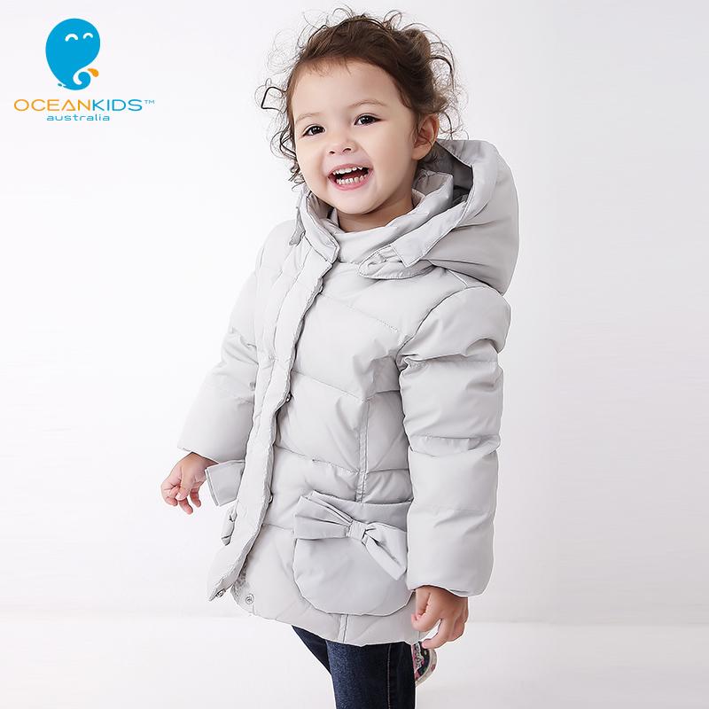 Winter girls down jacket baby down jacket coat snowsuit children's infant jackets winter baby-snowsuit infant girls snowsuit