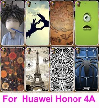 Soft TPU & Hard PC Case Huawei Y6 Covers Print Spartacus Map Stich Boy Blush Housing Honor 4A Shell Phone Bags - R-mart store