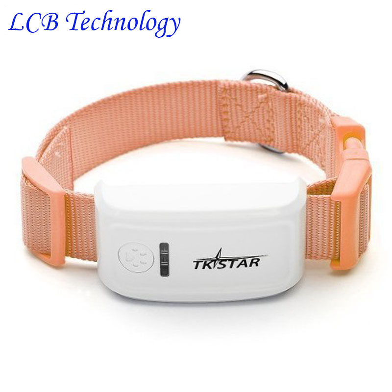 2016 New TKSTAR MiNi Pet GPS Tracker Necklace GSM GPRS TK909 Real Time SOS Tracking Long Stanby Time For Dog Cats Pets no boxes(China (Mainland))