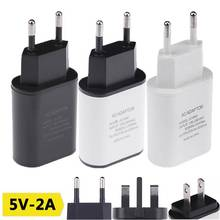 Buy 5V2A USB Charger EU US UK Plug USB Travel Power Adapter Mobile Phone Fast Wall Charger iPhone 5 7 6S 6 plus Redmi Note 3 for $3.22 in AliExpress store