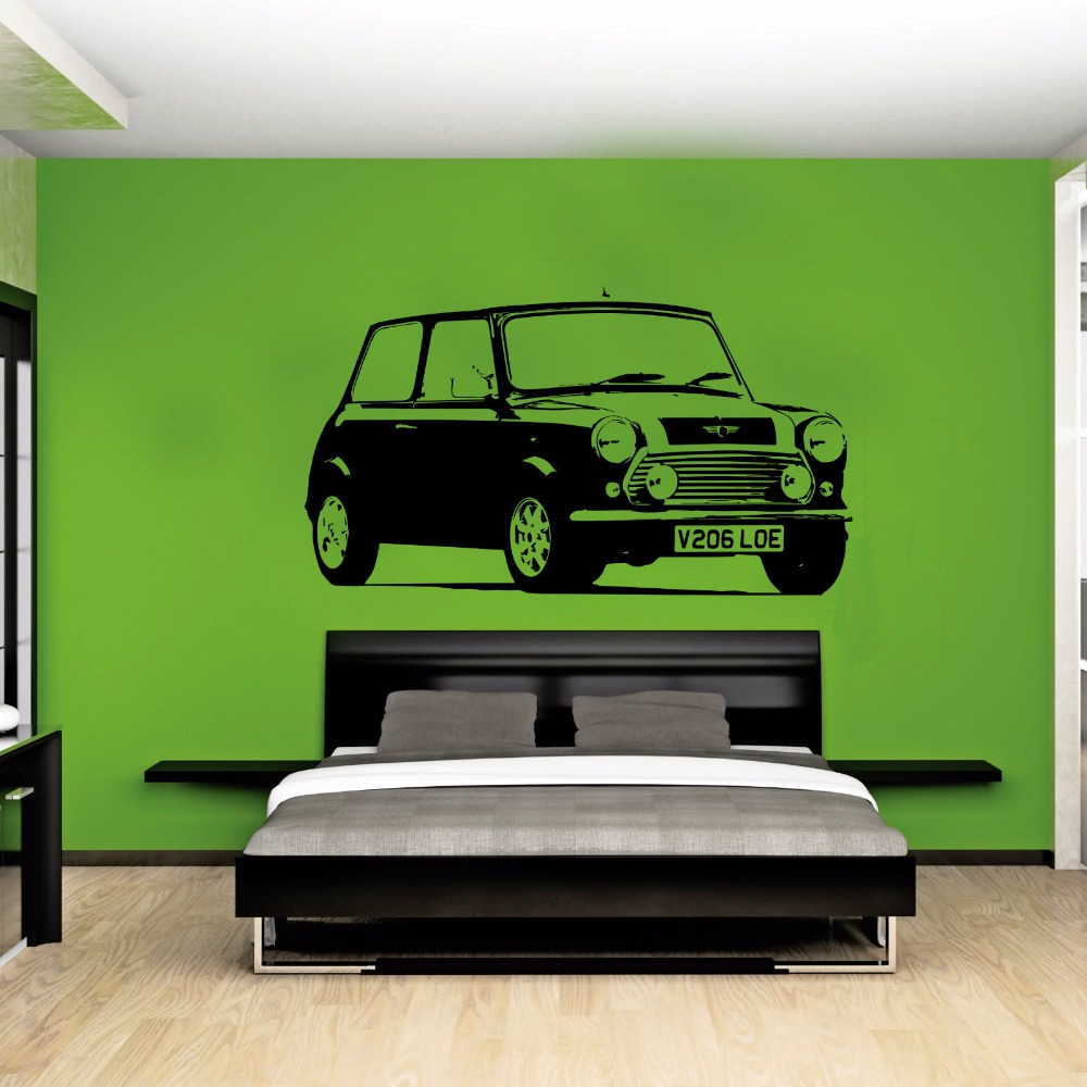 Classic car decor for bedroom bedroom ideas for Vintage car bedroom ideas