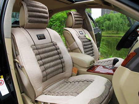 free shipping, 2012 high quality new breathable seat covers, Ice linen and Flax, auto accessories, x079a(China (Mainland))