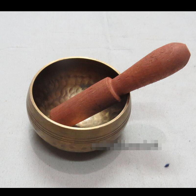 S171 Collectible mixed handmade hammered MALLET singing bowl Tibe(China (Mainland))