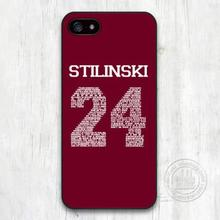 Teen Wolf STILINSKI 24 Words Phone Case iPhone 7 6 6S Plus 4 4S 5C 5 SE 5S Cover - iBaty Cute Custom Gift Co., Ltd. store