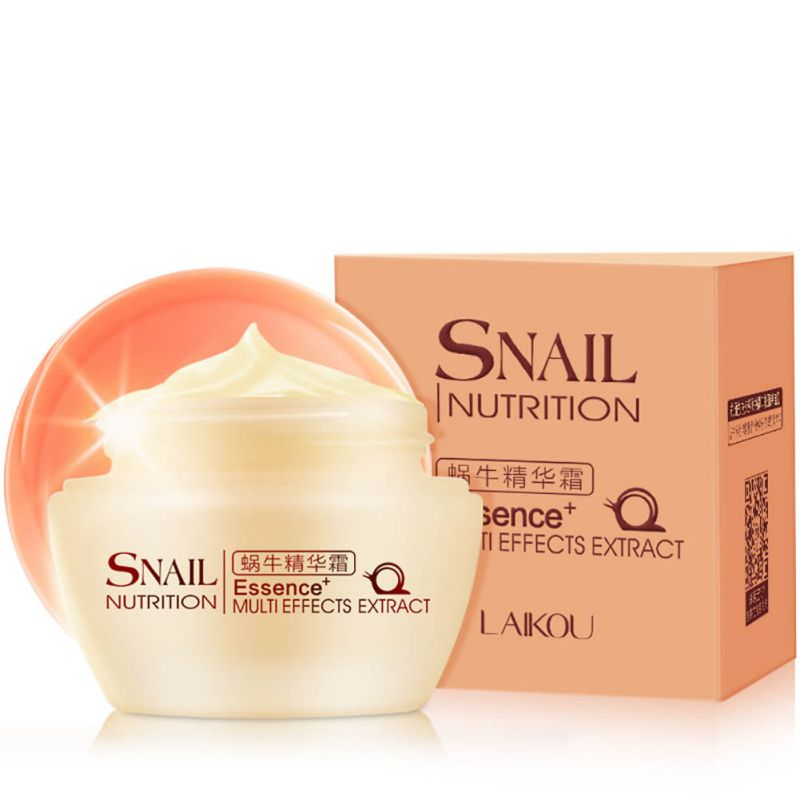New Essence Snail Face Repairing Cream Whitening Moisturize wrinkle Skin Care 50g