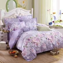 bedding set 5 size green leaf bedding set duvet cover set Korean bed sheet +duvet cover +pillowcase pink bed cover bed linen set(China)