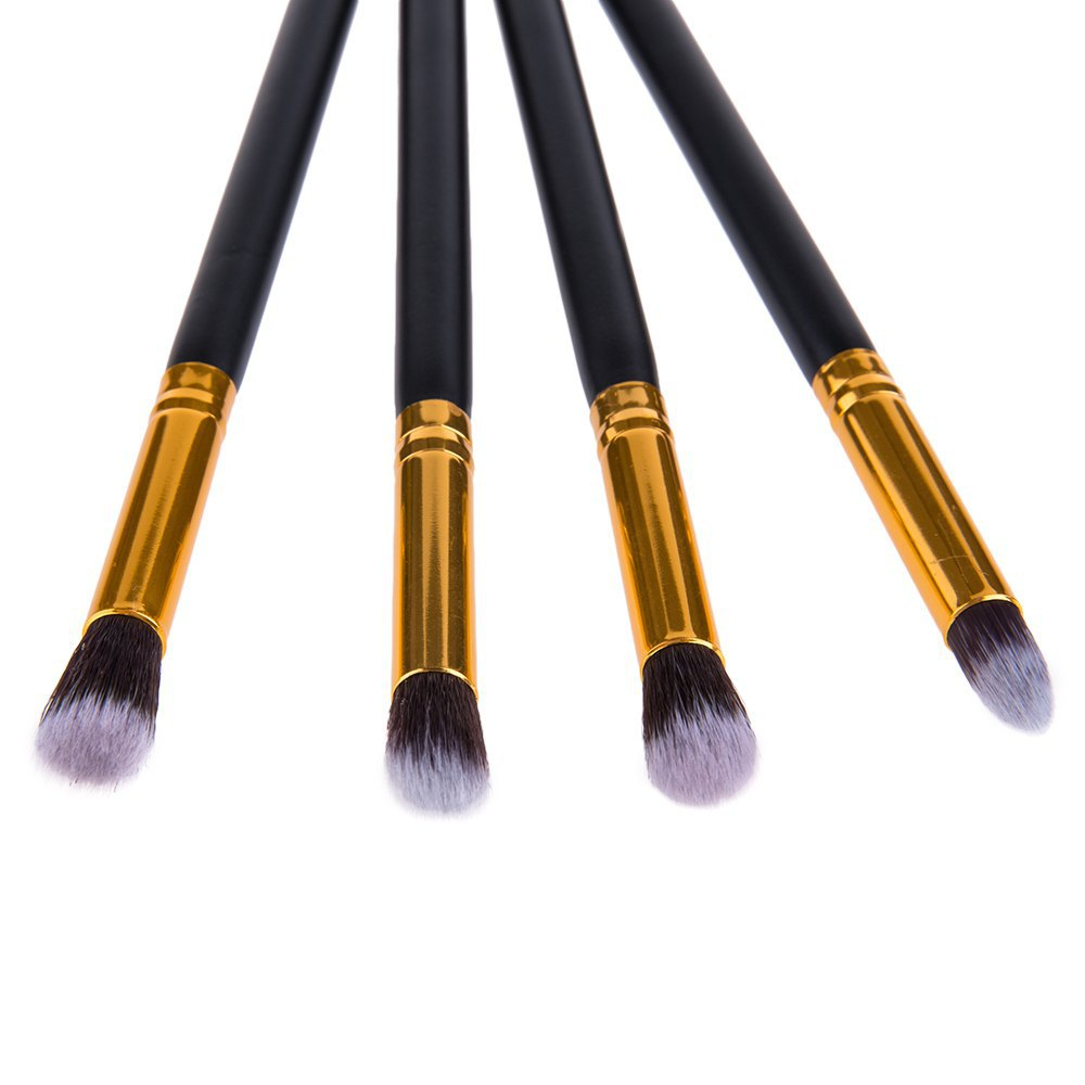 4 Pcs /Lot Cosmetic Brushes Set Foundation Brush Powder Make up Blending Pencil Brushes Makeup Brushes Set(China (Mainland))