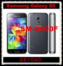"Samsung Galaxy S5 Original Unlocked 3G&4G GSM Android Mobile Phone SM-G900F Quad-core 5.1"" 16MP WIFI GPS 16GB Dropshipping(China (Mainland))"