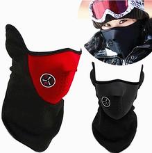 Открытый ветрозащитный Прохладный велосипеде маска Теплый пыле мотоцикл анти туман половина маска уход лыжи спорт маска бесплатная доставка