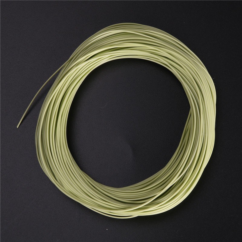 High quality double taper floating fly fishing line 100ft for Floating fishing line