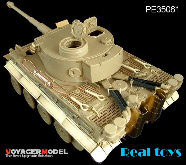 Здесь можно купить  Voyager model PE35061 1/35 Tiger I Initial Production Africa Troop (For TAMIYA 35227 )   Игрушки и Хобби