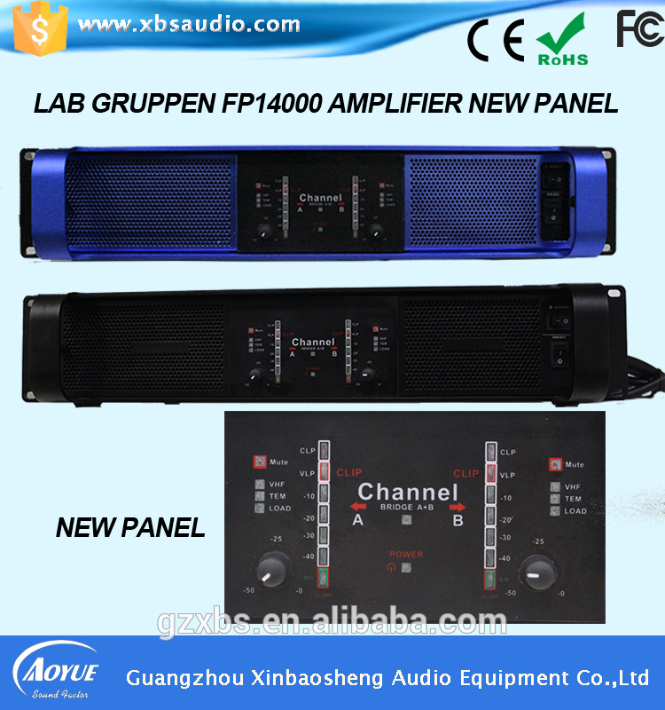 Outdoor high end 2channel Class D digital amplifier lab gruppen FP14000(China (Mainland))