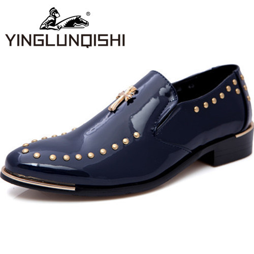 New 2015 Men Genuine Leather Oxford Shoes For Men dress Shoes Fashion Breathable Casual Massage Men Spring Autumn Shoes 2 Color(China (Mainland))