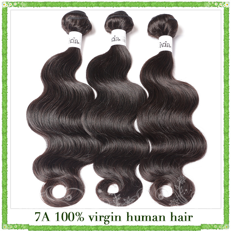 Indian virgin hair body wave 300gram lot cheap Price remy hair,from 8inch to 30inch mixed length,human hair weave,free shipping(China (Mainland))