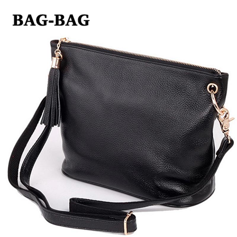 HOT Women Genuine leather (TOP layer) real cowhide handbag Retro Tassel chains shoulder/crossbody Messenger bags Fashion B140(China (Mainland))